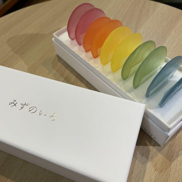 虹色のお菓子♡♡